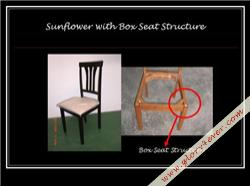 SUNFLOWER V BOX SEAT STRUCTURE